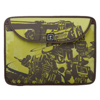 Decepticon Grunge Collage Sleeves For MacBook Pro