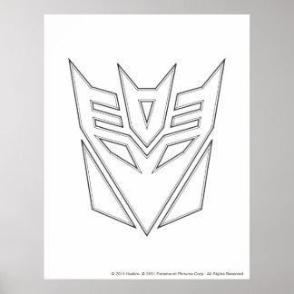 Decepticon Shield Line Poster