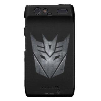 Decepticon Shield Metal Droid RAZR Cases