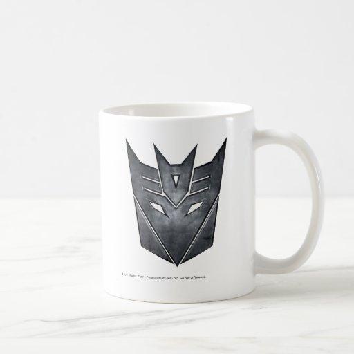 Decepticon Shield Metal Coffee Mug