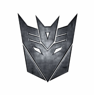 Decepticon Shield Metal Statuette