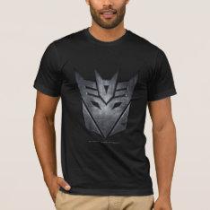 Decepticon Shield Metal T-Shirt at Zazzle