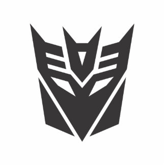 Decepticon Shield Solid Cutout
