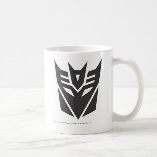Decepticon Shield Solid Coffee Mug