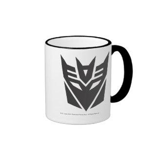 Decepticon Shield Solid Ringer Mug