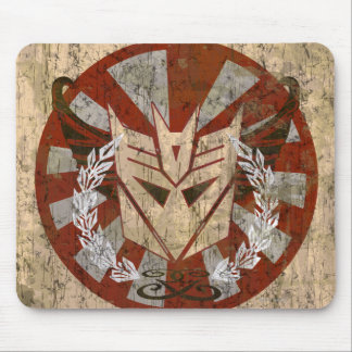 Decepticon Tribal Badge Mouse Pad