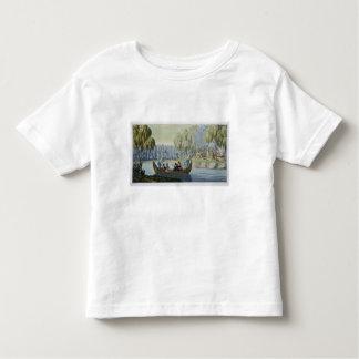 Deception of Captain Wallis by Queen Oberea, plate T Shirt
