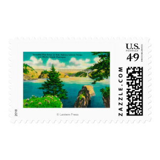 Deception Pass Bridge, Fidalgo and Whidby Island Postage