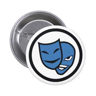 Deception Pinback Button