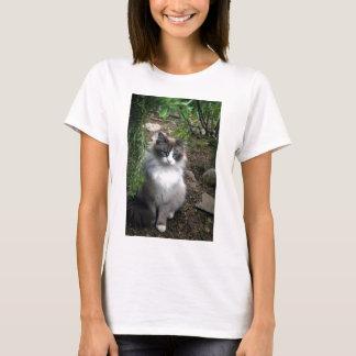 Deceptively Demure Cat T-Shirt