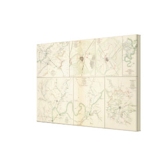 Decherd, Manchester, Tullahoma, Jasper Canvas Print