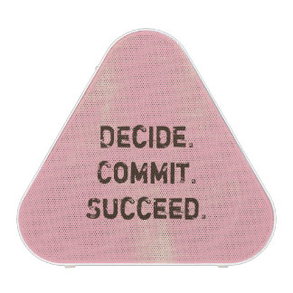 Decida. Confíe. Tenga éxito. El decir de Altavoz
