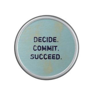 Decida. Confíe. Tenga éxito. El decir de Altavoz Con Bluetooth