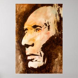 """Decida"" la pintura de la burguesía alta de Lezlie Póster"