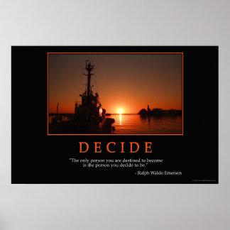 Decide Poster