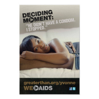 Deciding Moment: Yvonne Poster
