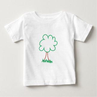 Deciduous Tree Baby T-Shirt