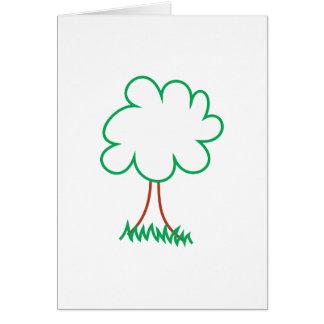 Deciduous Tree Card