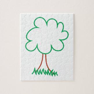 Deciduous Tree Jigsaw Puzzle