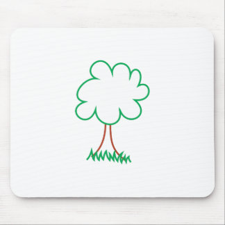 Deciduous Tree Mouse Pad