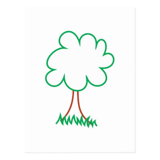 Deciduous Tree Postcard