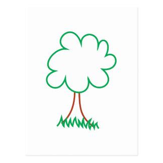 Deciduous Tree Postcard