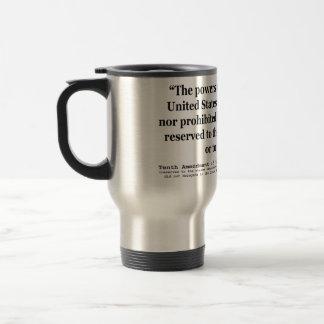 Décima enmienda a la constitución de Estados Unido Taza De Café