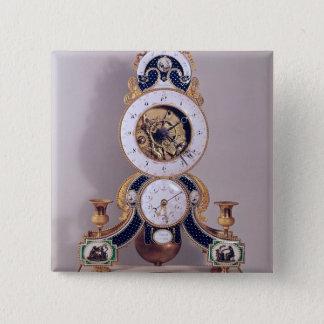 Decimal and duodecimal clock button