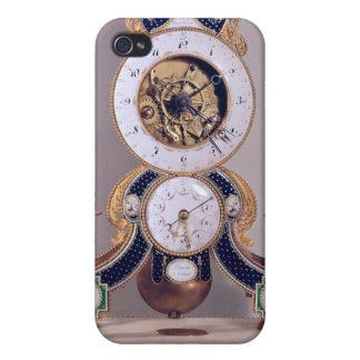 Decimal and duodecimal clock iPhone 4 cover