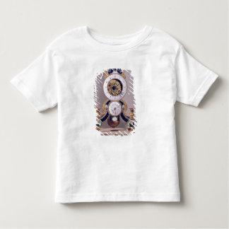 Decimal and duodecimal clock toddler t-shirt