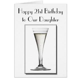 décimo octavas y 21ras tarjetas de cumpleaños