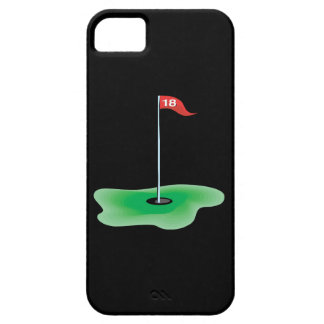 décimo octavo Agujero iPhone 5 Case-Mate Carcasas