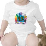 décimo octavo Arco del globo del cumpleaños Trajes De Bebé
