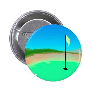 décimo octavo Botón del agujero Pin Redondo De 2 Pulgadas