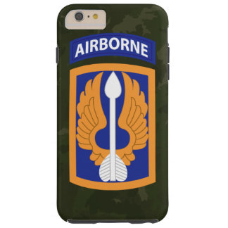 "décimo octavo Brigada de aviación ""barones"" Camo Funda De iPhone 6 Plus Tough"