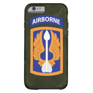 "décimo octavo Brigada de aviación ""barones"" Camo Funda Para iPhone 6 Tough"