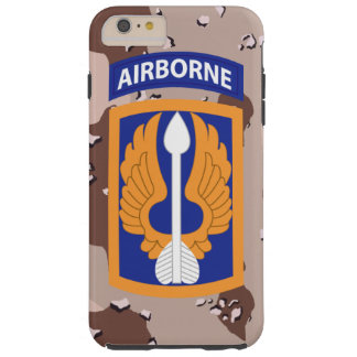 "décimo octavo Brigada de aviación ""barones"" Funda De iPhone 6 Plus Tough"