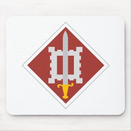 décimo octavo Brigada del ingeniero Mouse Pads