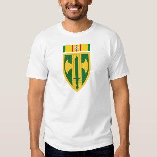 décimo octavo Brigada Vietnam - estrella de plata Remera