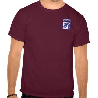 décimo octavo Camisetas aerotransportadas del cuer
