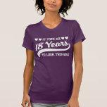 décimo octavo Cumpleaños Camiseta
