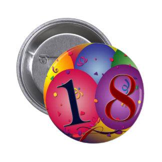 ¡Décimo octavo cumpleaños feliz! Pins