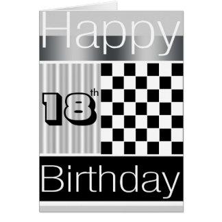 décimo octavo Cumpleaños Felicitacion