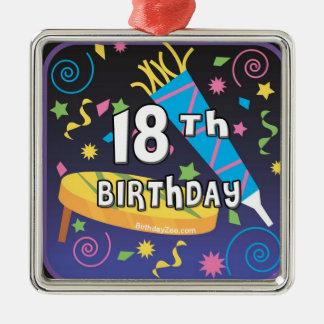 décimo octavo Favores del cumpleaños Ornato