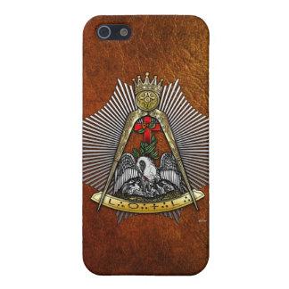 décimo octavo Grado: Caballero del Croix color de iPhone 5 Carcasa
