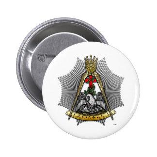 décimo octavo Grado: Caballero del Croix color de  Pin