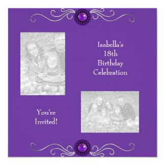 décimo octavo Joya de la púrpura de la plata de Comunicados Personales