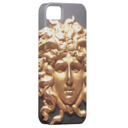 décimo octavo La cabeza decorativa de la porcelana Funda Para iPhone SE/5/5s