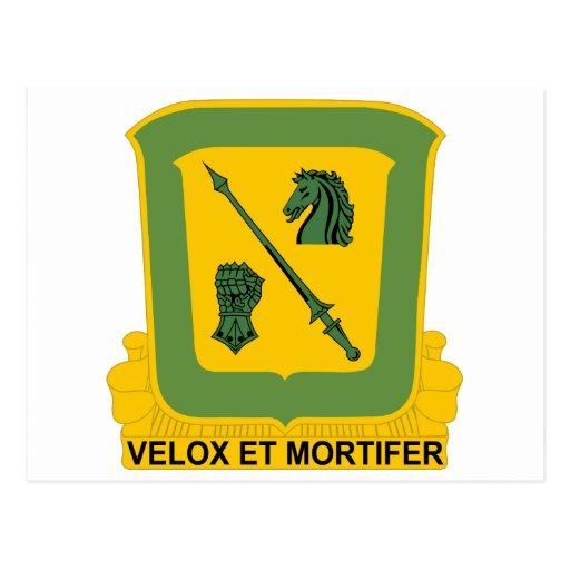décimo octavo Regimiento de caballería Postales