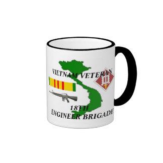décimo octavo Tazas de café del veterano de Vietna